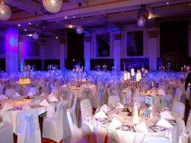 winter wonderland themed corporate event