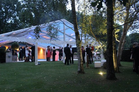 Marquee Hire by TML 'tents + events'.