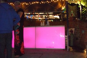 8 Foot pink LED Bar Party