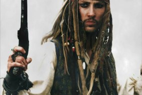 Terry Austin is Captain Jack Sparrow