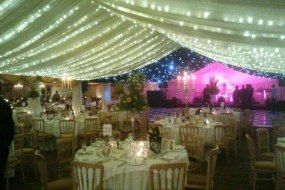 Evening marquee
