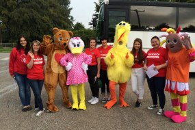 Mascot Costume Hire for Childrens fundraising