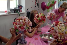 candy tree making parties