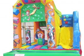 Hire our Slide Bouncer and add a new dimension to your event