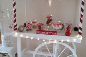 Festive Candy Cart hire