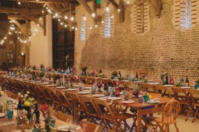 Lovely barn style wedding we supplied in Norfolk