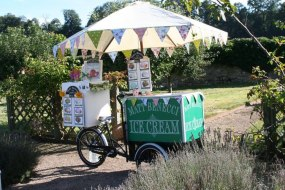 Matt Benecci Ice Cream Company tricycle hire