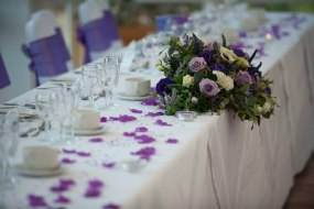 Scent with Love table arrangement