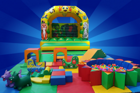 Standard soft play and large bouncy castle