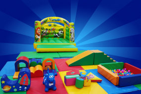 Baby/Toddler soft play and toddler bouncy castle