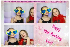 Kids party photobooth hire Surrey
