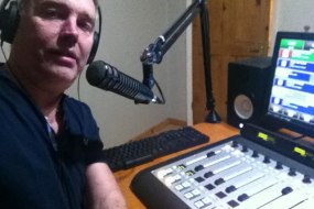 Working hard at Seagull FM