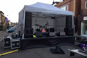 16ft x 12ft Stage with Gazebo Roof