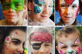 face painting pirate butterfly bingley professional