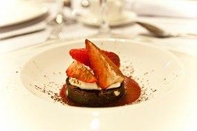 Triple Chocolate Brownie by Chef Damian Wawrzyniak