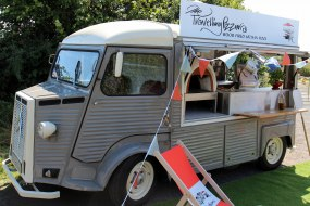 Wood-fired pizza, Devon, Citroen H Van