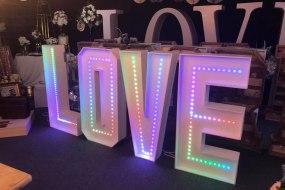 Colour Selectable LOVE Letters