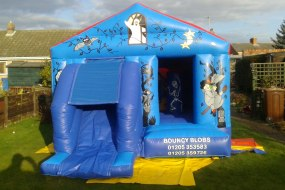 Bouncy Blob Castle Hire