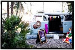 VW Camper photo booth Surrey