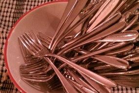 Cutlery Crockery and Linen