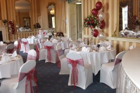 balloons, chair covers