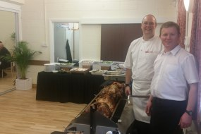 Hog Roast wedding menu