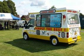 Staffordshire Ice cream van hire