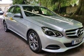 Silver Mercedes-Benz E-Class Wedding Car
