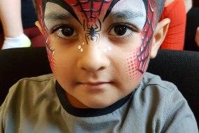 spiderman, happy faces bingley