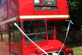 Red Routemaster Wedding Bus Hire Kent