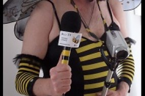The glamorous web TV host Betty Buzzcock
