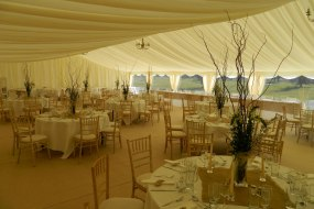 Marquee Dining Area