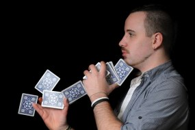 john owens magic, Cardiff magician