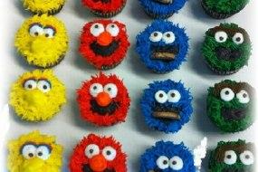 Seseme Street Cupcakes