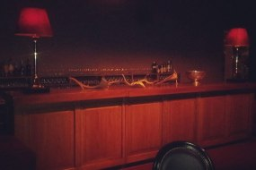 Vintage Wood Bar Hire