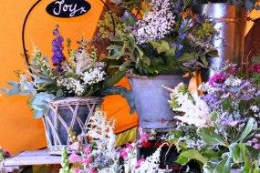 Themed flower arrangements