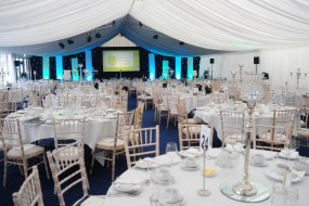 A business awards dinner