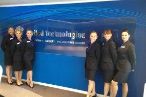Event Team at Farnborough Airshow 2014 for UTC