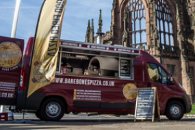 Wood Fired Pizza van