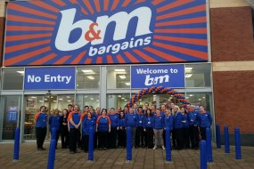 """B & M Opening Balloon Arch - with 5"""" Balloons"""
