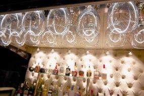 Mobile Cocktail Bar - Bar de Cru - Wine Glass Rack