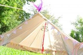 5mtr Bell Tent hire Leeds Wetherby Harrogate
