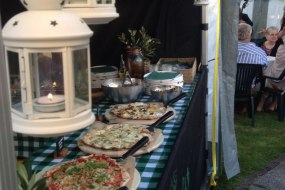 Pizza Buffet catering, Wedding catering, Special occasion catering, Birthday catering, Corporate catering and Charity catering