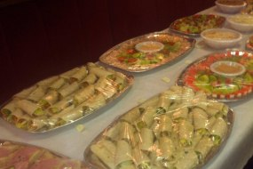 catering/buffets £3.25
