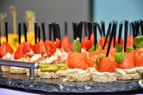 Canapes and bowl food catering