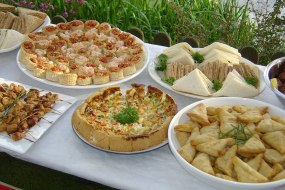 We also provide catering for your event