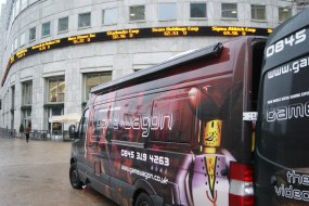 Gamewagon ready for action in the City