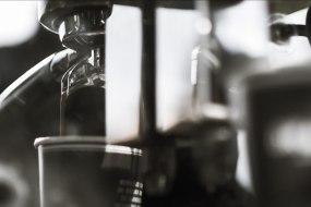 espresso extraction pour