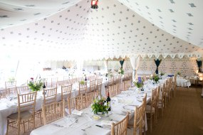 Stunning wedding tents by The Arabian Tent Co