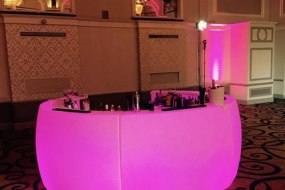 LED Circular Bar - Pink